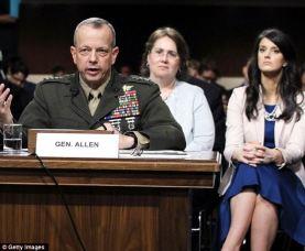 left to right: Gen. (Ret) John Allen, Kathy Allen, Bobbie Allen